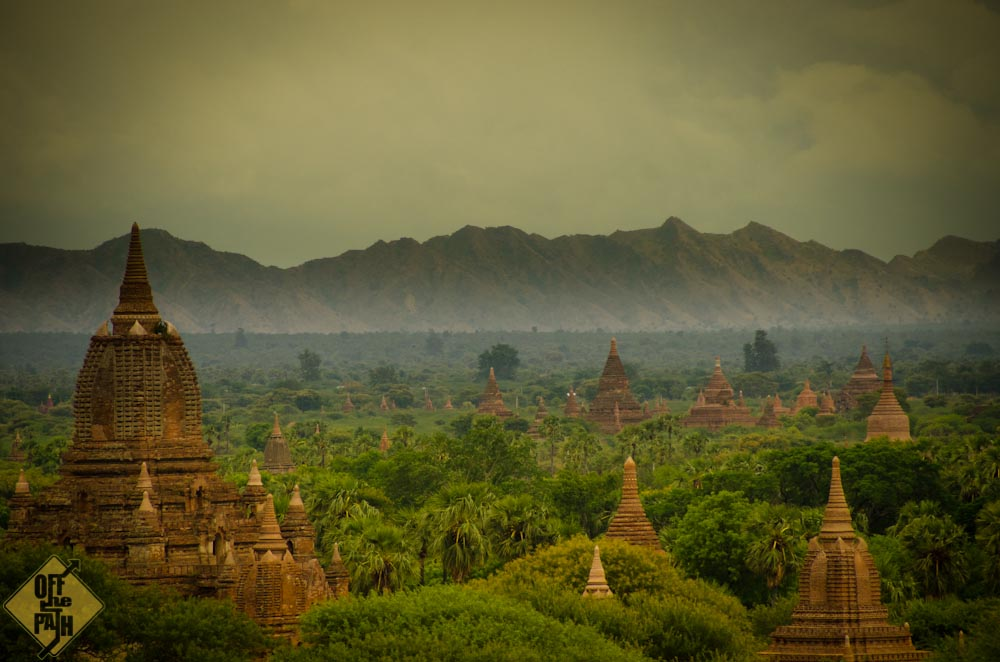 Bagan in Myanmar (Foto von Sebastian von Off the path)