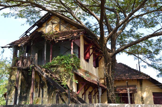 Alte Gebäude in Kochi
