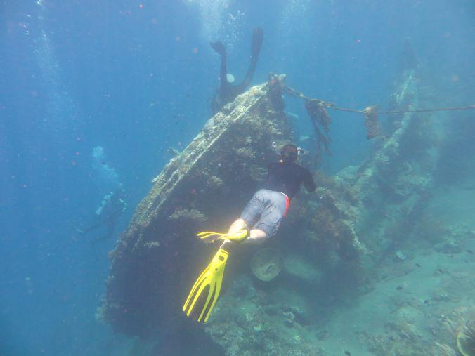 Japanisches Schiffswrack