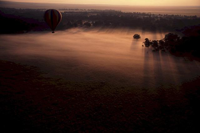 Heiratsantrag im Heißfluftballon