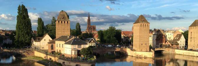 Romantische Tage in Straßbourg