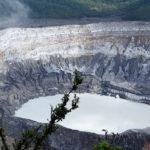 Poas Vulkan: Hoffen auf Nebel-Lücken